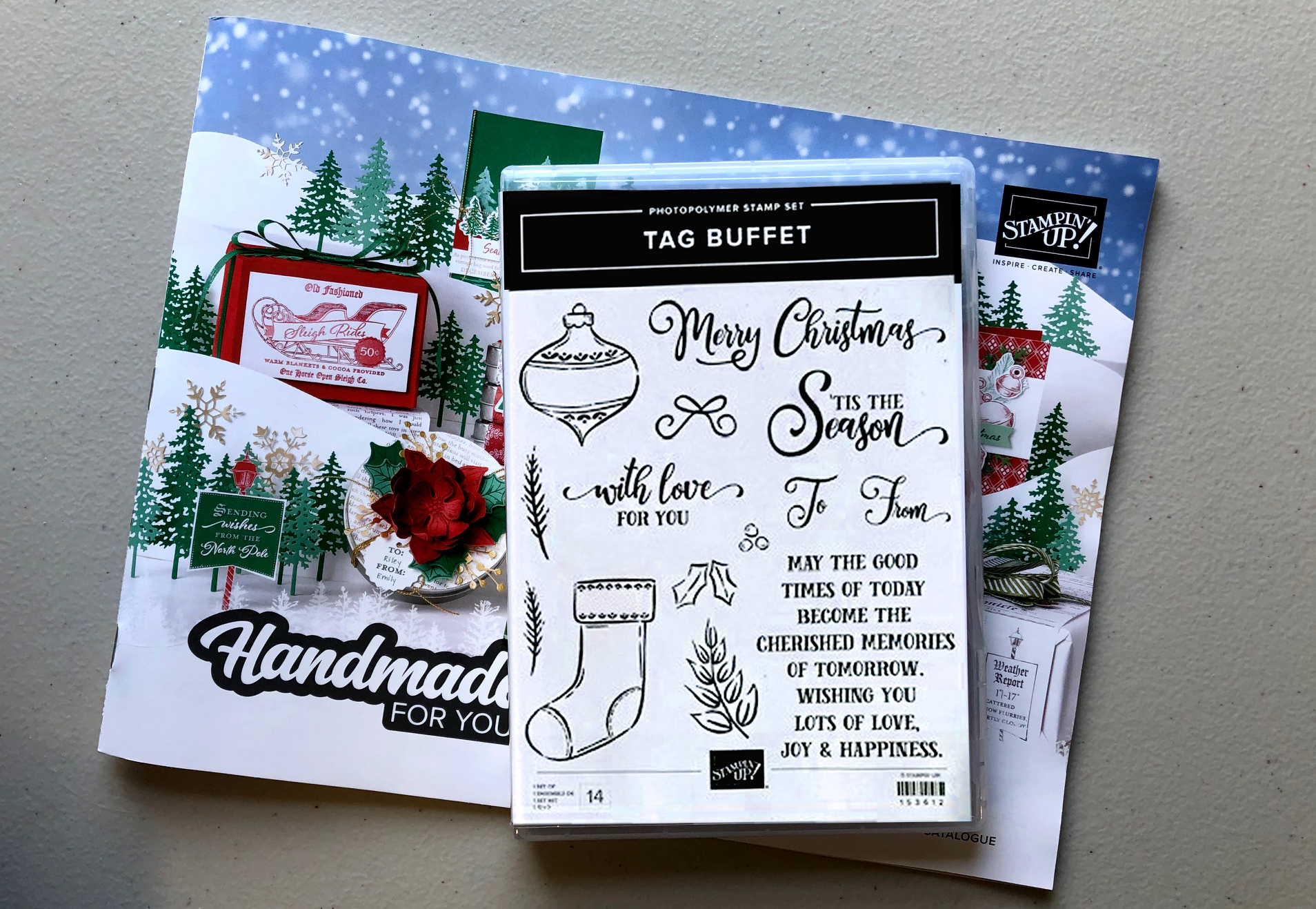 Tag Buffet Stampset