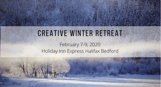 Creative Winter Retreat Banner