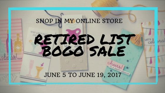 Retired List BOGO Sale